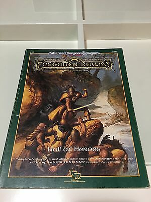 2nd edition D&D - Forgotten Realms - Hall Of Heroes