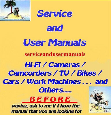 BEHRINGER  - Service and User Manuals