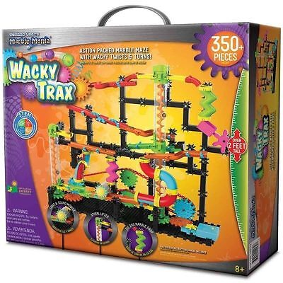 The Learning Journey Techno Gears Marble Mania Wacky Trax Building Kit  8+  New