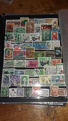 51 timbres Philippines (lot 31)