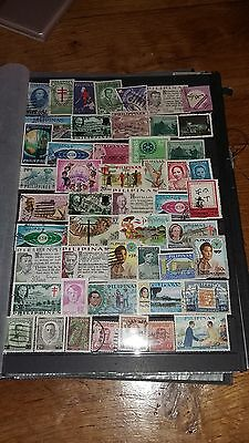 50 timbres Philippines (lot 30)