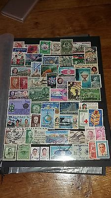 52 timbres Philippines (lot 33)