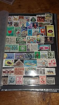 50 timbres Philippines (lot 32)