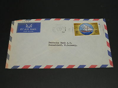 Kuwait 1970 airmail cover to Germany *9379