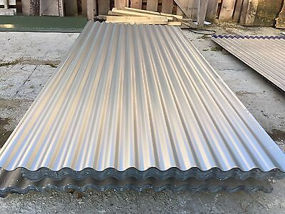 Corrugated Profile Tin Roofing Sheet Pack / £1.00 per Ft