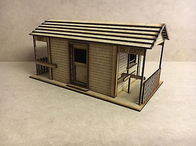 1/32 Scale Ticket Office Scalextric Or Magnetic Racing