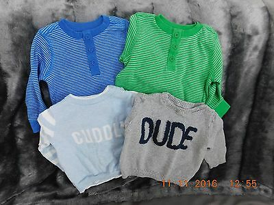 Baby Boys Jumpers Age 3-6 months