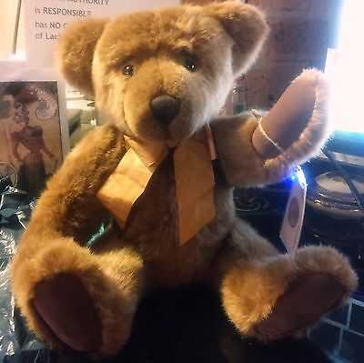 """MILLINGTON RUSS Bears From The Past Retired Limited Edition Fully Jointed 17"""""""