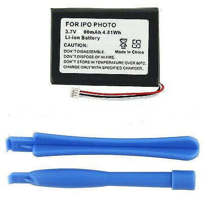 Replacement battery for iPod classic Photo 4th gen A1099 20 30 40 60 GB 1200mAh