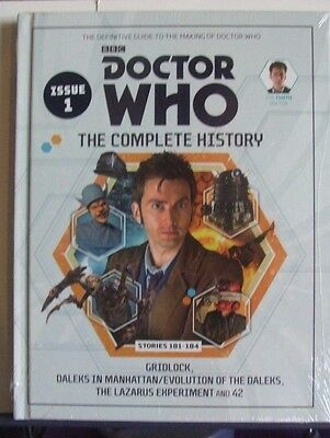 BBC Doctor Who The Complete History Collector Books/Graphic Novels