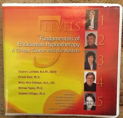 Fundamentals of Eriksonian Hypnotherapy - A 13 Hour Course with the Masters