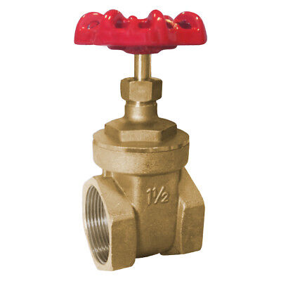 "Brass Gate Valve Npt - Sizes From 1/4"" To 4"" - Rated To Cl150"