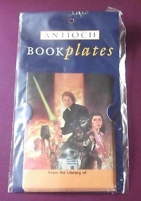 Anitoch Star Wars Book Plates Self Adhesive Labels x 10 New & Sealed Pack
