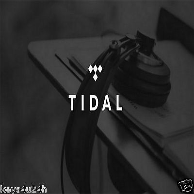 ➤ TIDAL PREMIUM 90 DAYS GURANTEED ★ BETTER than spotify or deezer FAST DELIVERY