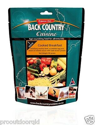 2 x Back Country Cuisine Cooked Breakfast - 2 Serve