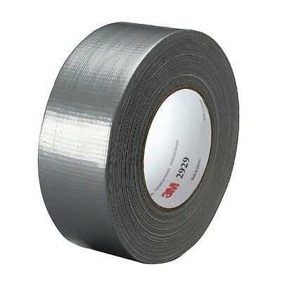 """3M 2929 Utility Duct Tape 1.88"""" X 50 Yards Silver Duct Tape - New!"""