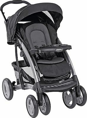 NEW Graco Quattro Tour Deluxe Travel System (Oxford)