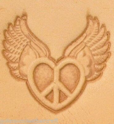 Craftool 3-D Leather Stamp Peace Heart (8615-00)