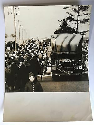 ww2 photo press  France , l'exode de 1940           B344