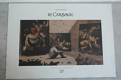 Affiche / Reproduction Image BD Manara Le Caravage - TBE