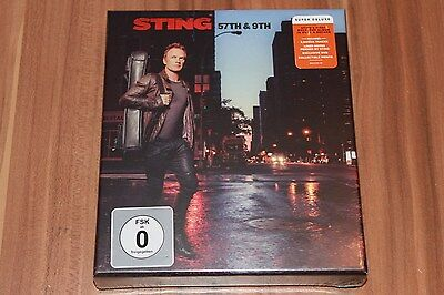 Sting - 57th & 9th (2016) (1xCD, 2xDVD, Super Deluxe Edition) (Neu+OVP)