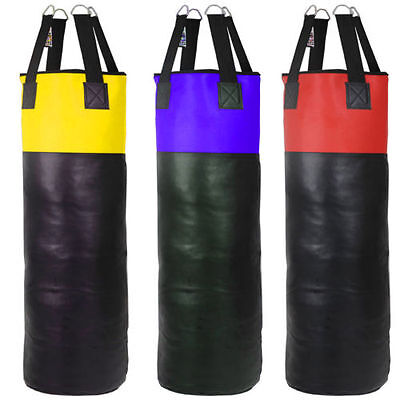 1s UNFILLED PUNCH BAG 4ft,5ft,6ft MMA PUNCH BAG MARTIAL ARTS PUNCH BAGS