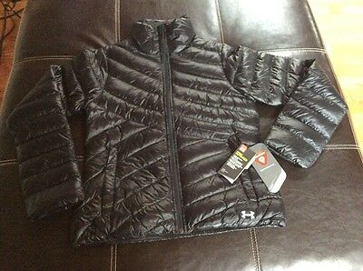 NWT Under Armour ColdGear Infrared Women's Uptown Jacket Black S
