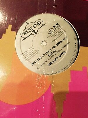 "Shirley Lites - Heat You Up Import 12"" Single"
