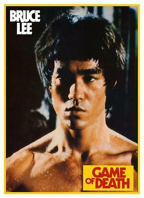 Game of Death  *POSTER*  Bruce Lee  - Jeet Kum Do Martial Arts Master mma 1972