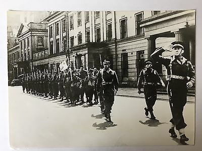 ww2 photo press Le commandant Kieffer à Londres en 1941         B355