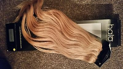 """16"""" Strawberry Blonde Halo Hair Extensions"""