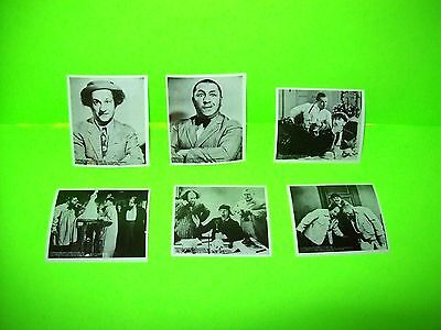The Three Stooges Vintage Columbia Pictures Licensed Decal Stickers Lot Of (6)
