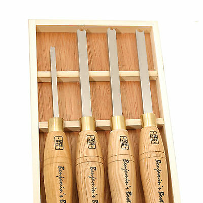 Set of 4 Benjamins Best HSS Bead Cutting Chisels