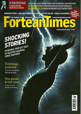 Fortean Times 330 August 2015 Shocking Stories!