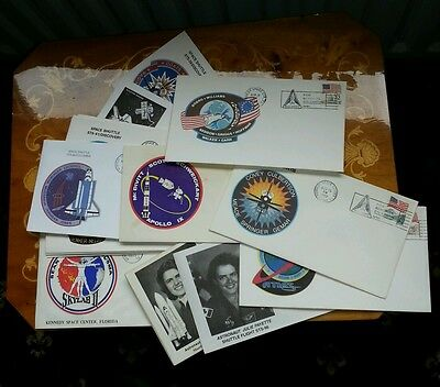 Lot of 20 First day cover fdc nasa space shuttle sts missions