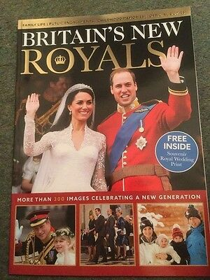 Britains New Royals Prince William , Harry, Kate,  George New Magazine