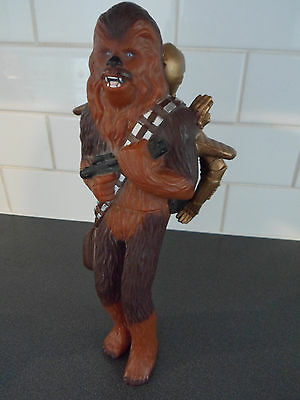 Applause 1995 Star Wars Chewbacca & C-3PO Figure.