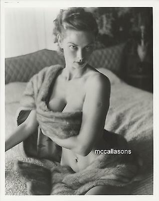 "NO. 1 PINUP AND MAGAZINE COVER MODEL ""IRISH MCCALLA"" MODELING SHOOT IN THE 1950s"