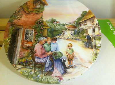 Royal Doulton Decorated Plates Series Old Country Crafts The Lacemaker