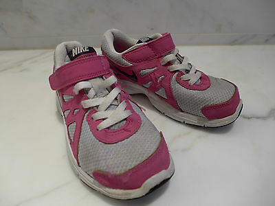 Girls NIKE Revolution 2 running shoes Size 11C US 28 EU