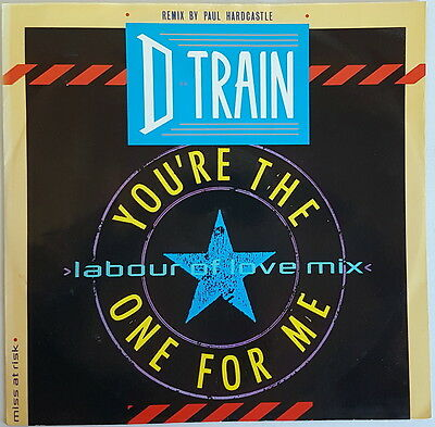 "D Train 'You're The One For Me' 12"" Vinyl Single"