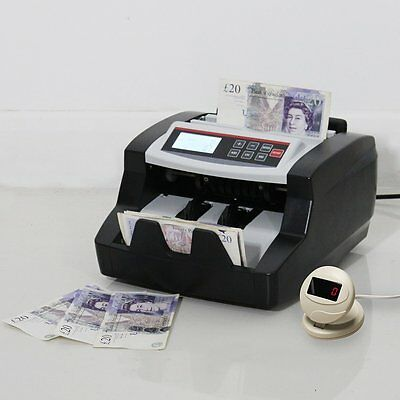 Bank Currency Counter Count Detector Money Fast Banknote Pound Cash Machine