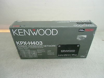 KPX- H403, By KENWOOD, Passive Crossover Network for Cars