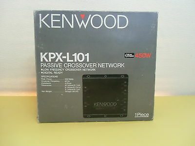 KPX-L101, By KENWOOD, Passive Crossover Stereo Network for Cars