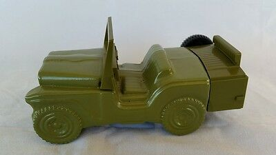 Avon Green Jeep Wild Country After Shave Decanter EMPTY Collectable