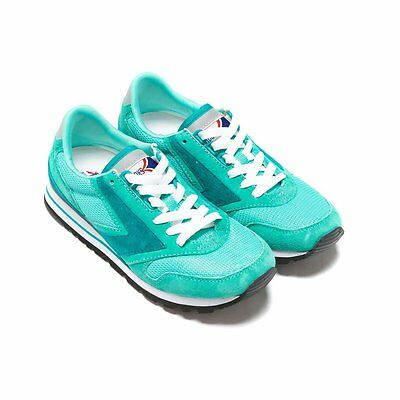 NIB BROOKS HERITAGE Chariot Women 556 Teal Retro Running