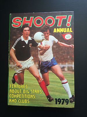 VERY RARE Shoot Annual Hardback 1979 VGC PRICE UNCLIPPED