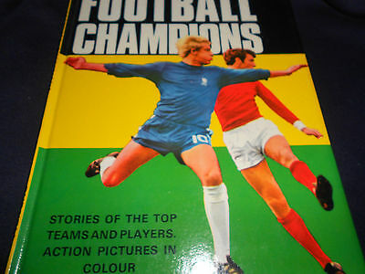 Very Rare The Football Champions Book 1969 - Purnell Vgc