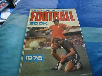 VERY RARE VINTAGE the topical times football book 1976