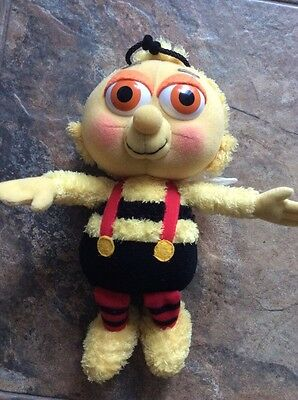 """fifi and the flowertots  mr bumble  soft toy teddy 11.5"""" tall"""